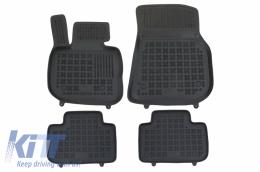 Floor mat Rubber Black suitable for BMW X3 (G01) (2017-Up) - 200727
