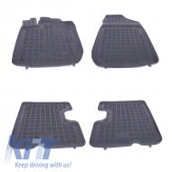 Floor mat Rubber Black suitable for DACIA Duster I Facelift 2013-2017 - 203408