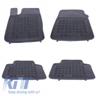 Floor mat rubber Black suitable for JEEP Grand Cherokee IV 2010+ - 203105