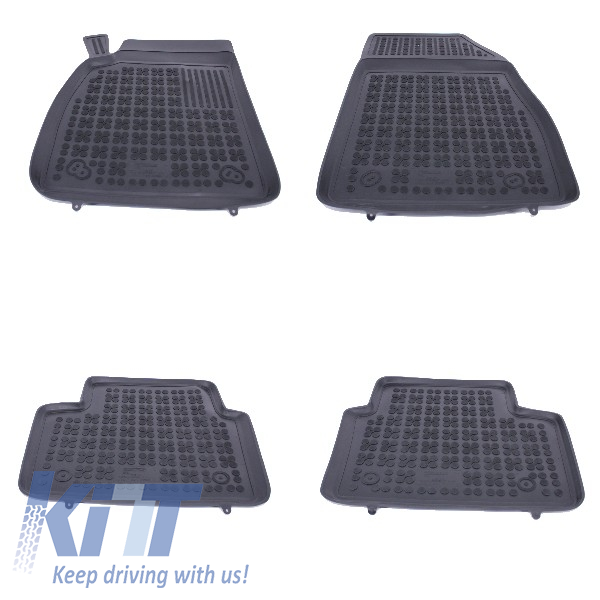 Floor Mat Rubber Black Suitable For OPEL Insignia 2008