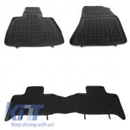 Floor mat Rubber Black suitable for TOYOTA Rav4 IV , RAV4 Hybrida 2013+ - 201425
