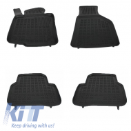 Floor mat Rubber Black VOLKSWAGEN Jetta 2010+, Passat B6 B7 CC 2005-2012, Tiguan 2007-2015