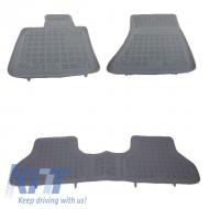 Floor mat Rubber Grey BMW X5 E70 2006-2013 X6 E71 2008-2014