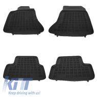 Floor mat rubber MERCEDES A-Class W176 2012+ GLA X156  2013+ Black