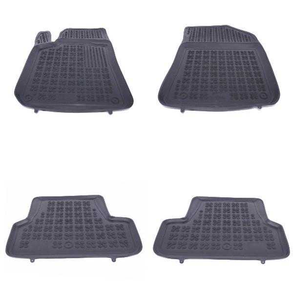 Floor mat rubber PEUGEOT 308 2013+ Black