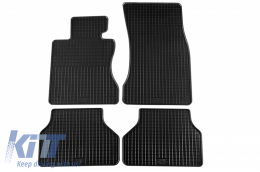Floor Mat Rubber suitable for BMW 5er (E60) 06/2003-02/2010, Touring (E61) 2004-08/2010 - 16510