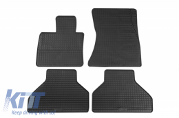 Floor Mat Rubber suitable for BMW X5 (E70) 03/2007-10/2013, X6 (E71) 06/2008-11/2014, X5 (F15) 11/2013, X6 (F16) 12/2014 - 16910