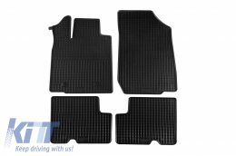 Floor Mat Rubber suitable for DACIA Duster 4x2  03/2010-12/2013, Duster 01/2014-12/2017, Duster 01/2018 - 28910