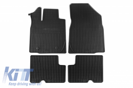 Floor Mat Rubber suitable for DACIA Locan MCV 07/2013 - 29013