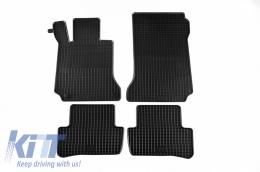 Floor Mat Rubber suitable for MERCEDES C-Klasse (W204) 03/2007-02/2014, E-Klasse Coupe/Cabrio 05/2009-03/2017 (C207), T-Modell (S204) 11/2007-08/2014 - 46110