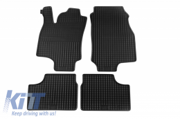 Floor Mat Rubber suitable for OPEL Astra G 03/1998-03/2004, Coupe 03/2000-12/2001 - 58010