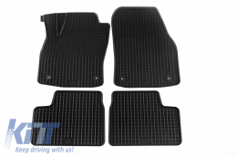 Floor Mat Rubber suitable for OPEL Astra H 2004-10/2009, Astra H Caravan 09/2004-10/2010, Astra H GTC 03/2005-10/2011 - 58110