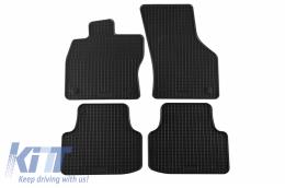 Floor Mat Rubber suitable for SKODA Octavia III Limousine 02/2013m Kombi 05/2013, Octavia Scout 10/2014 - 22210