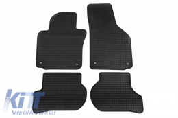 Floor Mat Rubber suitable for VW Golf V 09/2003-2008, Jetta 07/2005-12/2010, Golf VI 2008-10/2012, Scirocco 09/2008, Golf VI Variant 10/2009 - 61110