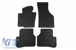 Floor Mat Rubber suitable for VW Passat all Models 03/2005-10/2010, Passat all Models 11/2010-10/2014, CC 02/2012-11/2016 - 69110