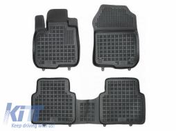Floor mats black fits to HONDA CR - V V 2018 -
