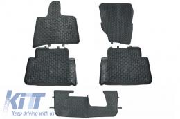 Floor Mats Rubber Mats Audi Q7 4L (2006-2015) 5/7 Seats Grey