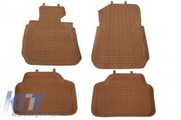 Floor Mats Rubber Mats BMW 3 Series E90/E91 (2004-2011) Brown