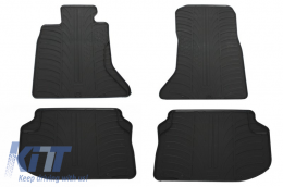Floor Mats Rubber Mats BMW 5 Series F10 (2010-up) Black
