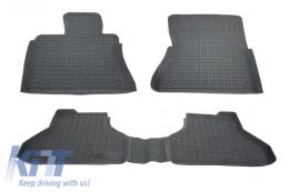 Floor Mats Rubber Mats BMW X6 E71 (2008–2014) Anthracite Grey - 0001800GR