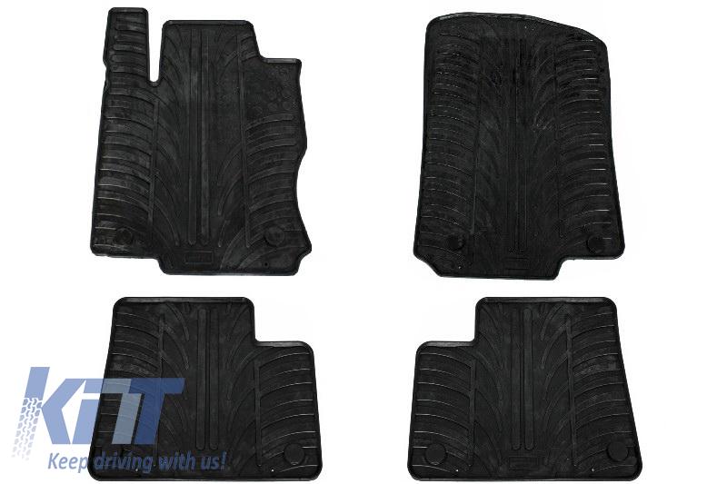 Floor Mats Rubber Mats Mercedes Benz Ml W166 2011 Up Black