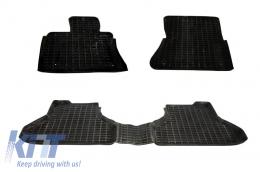 Floor Mats Rubber Mats suitable for BMW X6 E71 (2008–2014) Black - 0001800