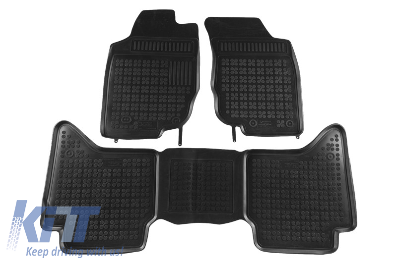 Toyota Floor Mats >> Floor Mats Rubber Suitable For Toyota Hilux 2005 2015