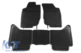 Floor Mats Rubber suitable for TOYOTA Hilux 2005-2015 - 201427