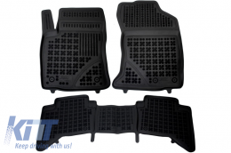 Floor Mats Rubber suitable for TOYOTA Hilux (2015-Up) - 201431