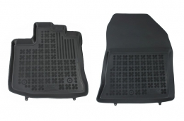 Floormat black front fits to/ suitable for DACIA Dokker Van2012-  - 203405P