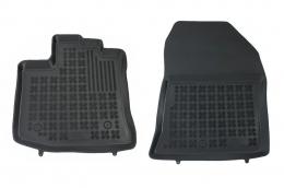 Floormat black front fits to/ suitable for DACIA Dokker Van2012-