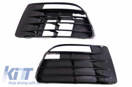 Fog Lamp Covers  suitable for VW Golf VI Golf 6 (2008-2012) R20 Design - SGVWG6R20