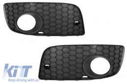 Fog Lamp Covers Volkswagen suitable for VW Golf V 5 (2003-2007) GTI Look - SGVWG5GTI