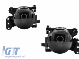Fog Light Projectors suitable for BMW Series 3 E90 E91 Series 3 Coupe Cabrio E92 E93 Series 5 E60 E61 Smoke - FLBME90S