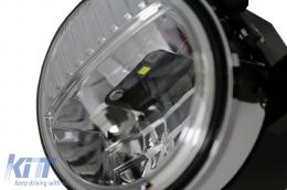 Fog Lights 4 Inch Full LED suitable for JEEP Wrangler JK TJ LJ (2007-2017) - FLJEWRSMFL