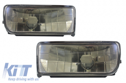 Fog Lights Lamps BMW 3 Series E36 1991-1999 Glass Smoke Lens - NLB01JB