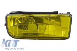 Fog Lights Lamps BMW 3 Series E36 1991-1999 Glass Yellow Lens
