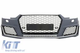 Front Bumper Audi A4 B9 8W (2016-) Quattro RS4 Design - FBAUA4B9RSB