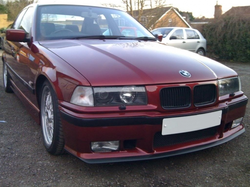 Front Bumper BMW 3er E36 (1992-1998) M3 Design With Chrome ...
