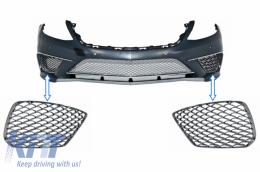 Front Bumper Chrome Side Grilles suitable for MERCEDES Benz S-class W222 AMG S65 Design - SGMBW222S65
