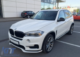 Front Bumper Lip suitable for BMW X5 (F15) (2014-2018) Aero Package M Performance Design - FBSBMF15AERO