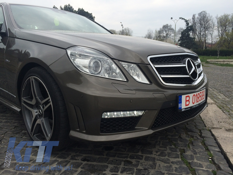 Front bumper mercedes benz e class w212 amg look 2009 2013 for Looking for mercedes benz parts