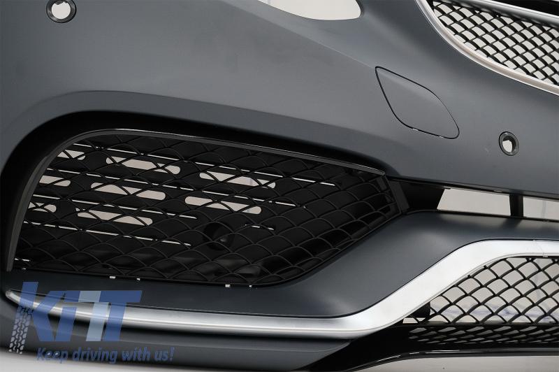 front bumper mercedes benz w212 e class facelift 2013. Black Bedroom Furniture Sets. Home Design Ideas