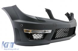 Front Bumper Mercedes C-Class W204 (2012-up) C63 Facelift AMG Design