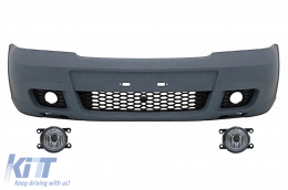 Front Bumper Opel / suitable for VAUXHALL Astra G (1998-2005) OPC-Design with Fog Lights - COFBOAGOPC