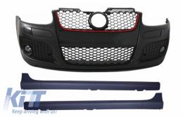 Front Bumper Side Skirts suitable for VW Golf MK5 V 5 (2003-2008) GTI Design - COFBVWG5GTI