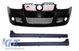 Front Bumper Side Skirts Volkswagen suitable for VW Golf Mk 5 V Golf 5 (2003-2007) GTI Design - COFBVWG5GTIWF