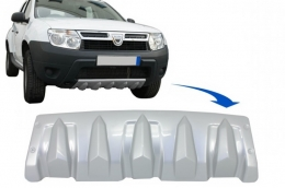 Front Bumper Skid Plate Protection suitable for DACIA Duster 4x4 / 4x2 (2010-up) - SPFBDD