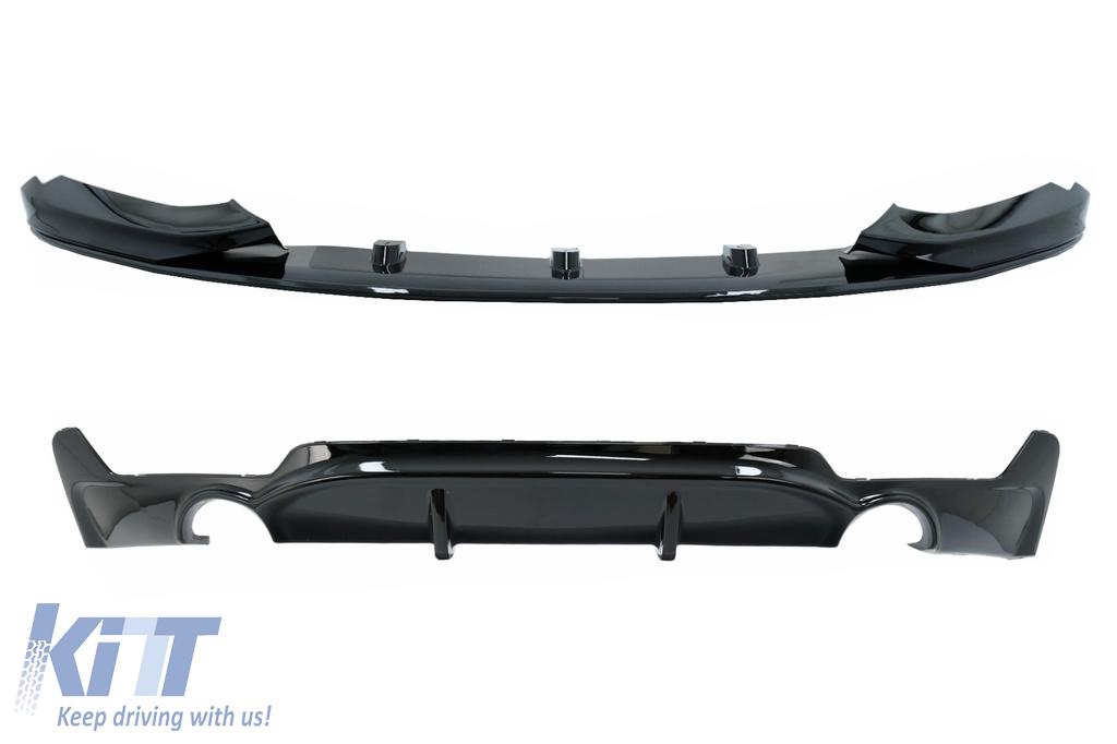 BMW 4 Series F32 F33 F36  Rear Bumper Valance Performance Diffuser