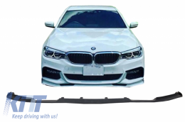 Front Bumper Spoiler suitable for BMW 5 Series G30 G31 Limousine/Touring (2017-up) M Sport H-Design - FBSBMG30MP